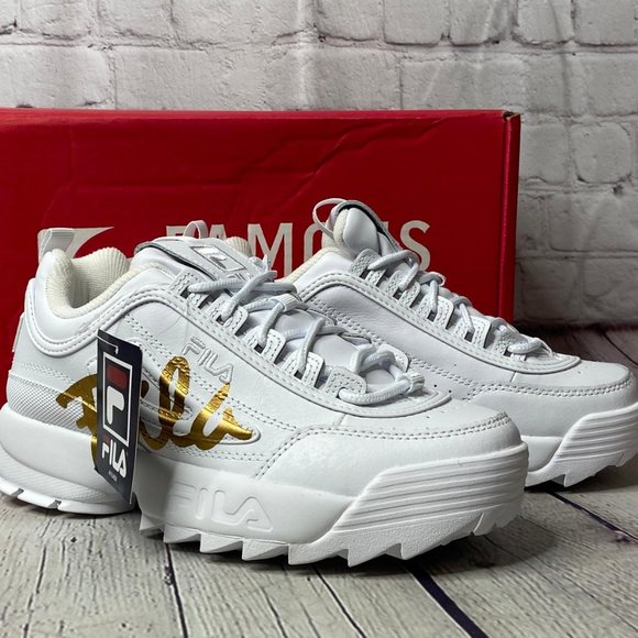 Fila Shoes Disruptor Ii Script Womens